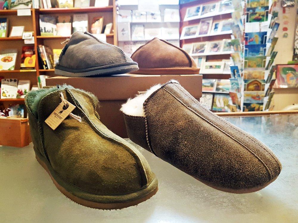 Annie Shepherd sheepskin slipper sale offer