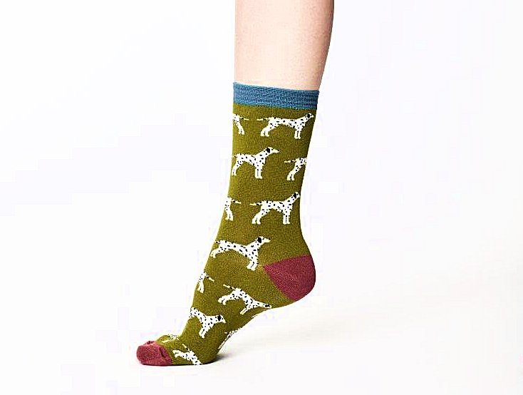 Dalmation Super Soft Bamboo Socks